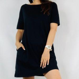GAP Shift Black Dress/TShirt Dress